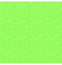 green apples vector image vector image