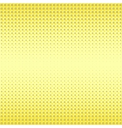 Yellow Halftone Patterns vector image vector image