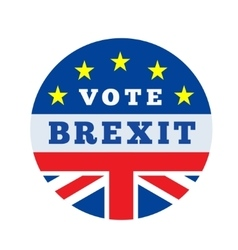 brexit vector image