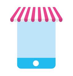 digital marketing and shopping vector image