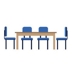 furniture concept cartoon vector image