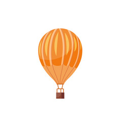 Hot air balloons travel vector