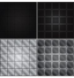Metal backgrounds vector