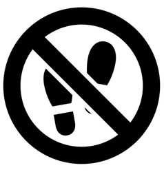 No step here forbidden sign modern round sticker vector