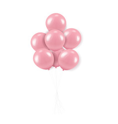 Pink balloons bouquet vector