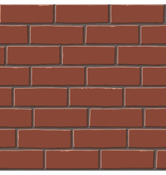 Red bricks tex vector