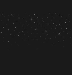 Silver sparkles background vector