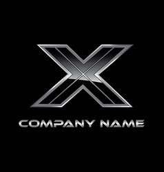 X logo design vector
