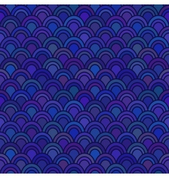 Japanese Wave Seamless Pattern vector image vector image