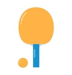 Table tennis vector