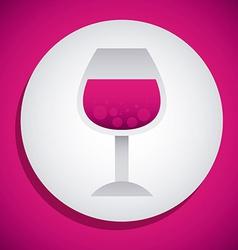 wine design vector image