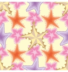Decorative seamless background pattern vector image vector image
