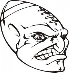 mascot templates vector image vector image