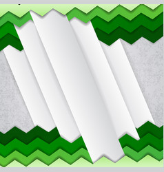Abstract green and white background vector