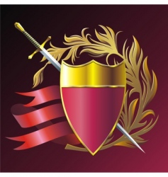 armorial composition vector image
