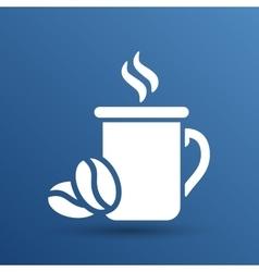 Coffee cup logo design template Cafe shop vector