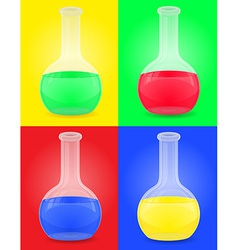 glass tube 06 vector image