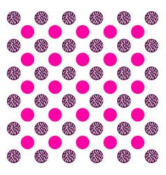 Seamless dots pattern vector