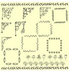 Set corners vector