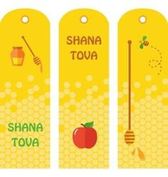 Set of honey labels badges and design elements for vector image vector image