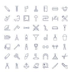 Steel icons vector