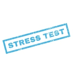 Stress Test Rubber Stamp vector