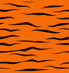 Tiger stripe pattern tile vector