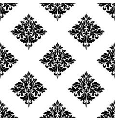 Diamond shaped seamless arabesque pattern vector image