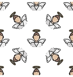 Christianity flat pattern vector image vector image
