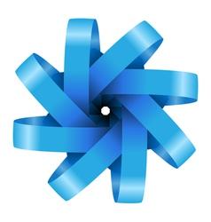ribbon icon vector image