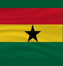 6 march ghana independence day background vector