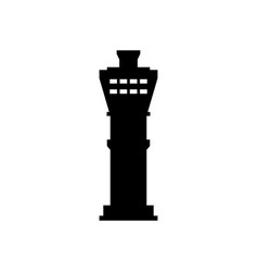 airport tower icon vector image