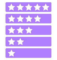 Forum rank icon set vector