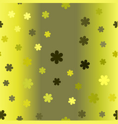 gradient flower pattern seamless vector image