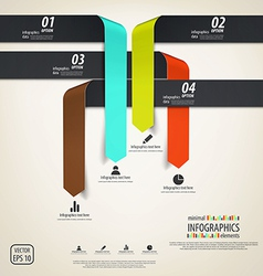 Minimal infographics design elements vector