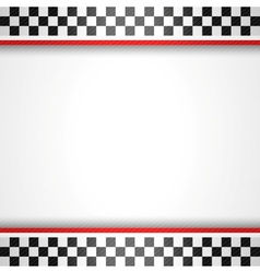 Racing square background vector
