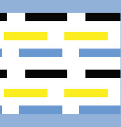 rectangles abstract pattern vector image