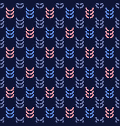 Rye graphic seamless pattern vector
