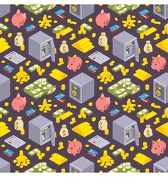 Seamless pattern with the objects related to vector image