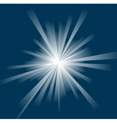 sun ray background vector image