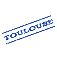 Toulouse Watermark Stamp vector