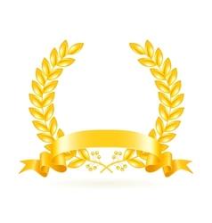 Gold Wreath vector image