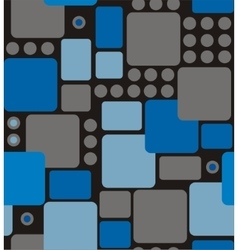 Abstract geometry from rounded rectangles vector
