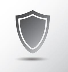 shield shape vector image