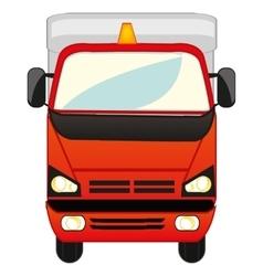 Big cargo car vector image