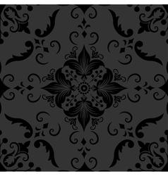 Elegant Floral Damask Pattern vector