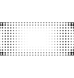 Halftone bubble background in black and white vector