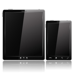 tablet pc and mobile phone vector image