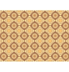 Scalable Indian Pattern vector image vector image