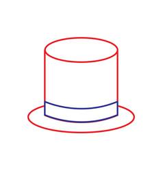 top hat icon image vector image